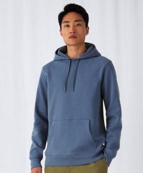 Moški pulover z kapuco B&C King Hooded