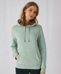 Ženski pulover z kapuco B&C QUEEN Hooded